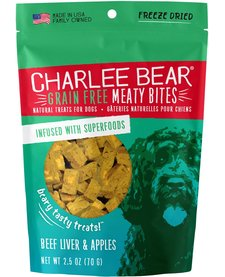 Charlee Bear MB Beef Liver & Apple 2.5 oz