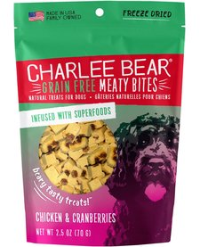 Charlee Bear MB Chicken & Cran 2.5 oz