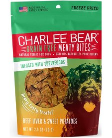 Charlee Bear MB Beef Liver & Sw Pot 2.5 oz