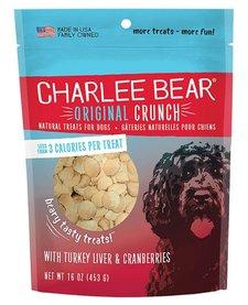 Charlee Bear Turkey Liver Treats 16 oz