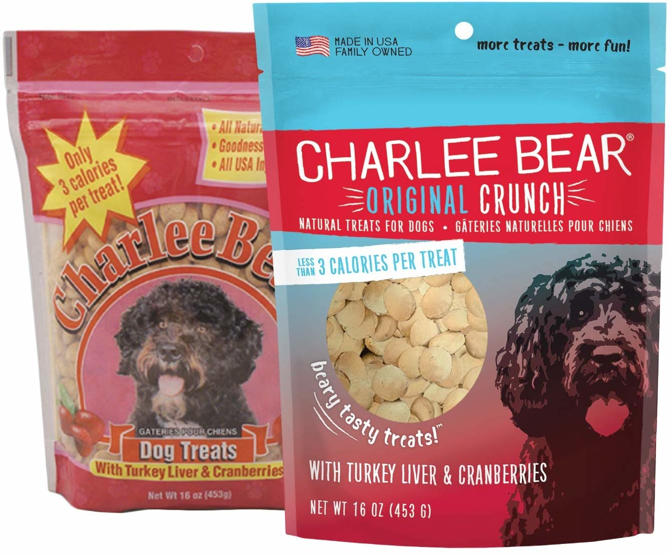 Charlee Bear Charlee Bear Turkey Liver Treats 16 oz