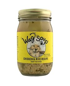 Wet Nose Wag Soup Chk & Rice 16 oz