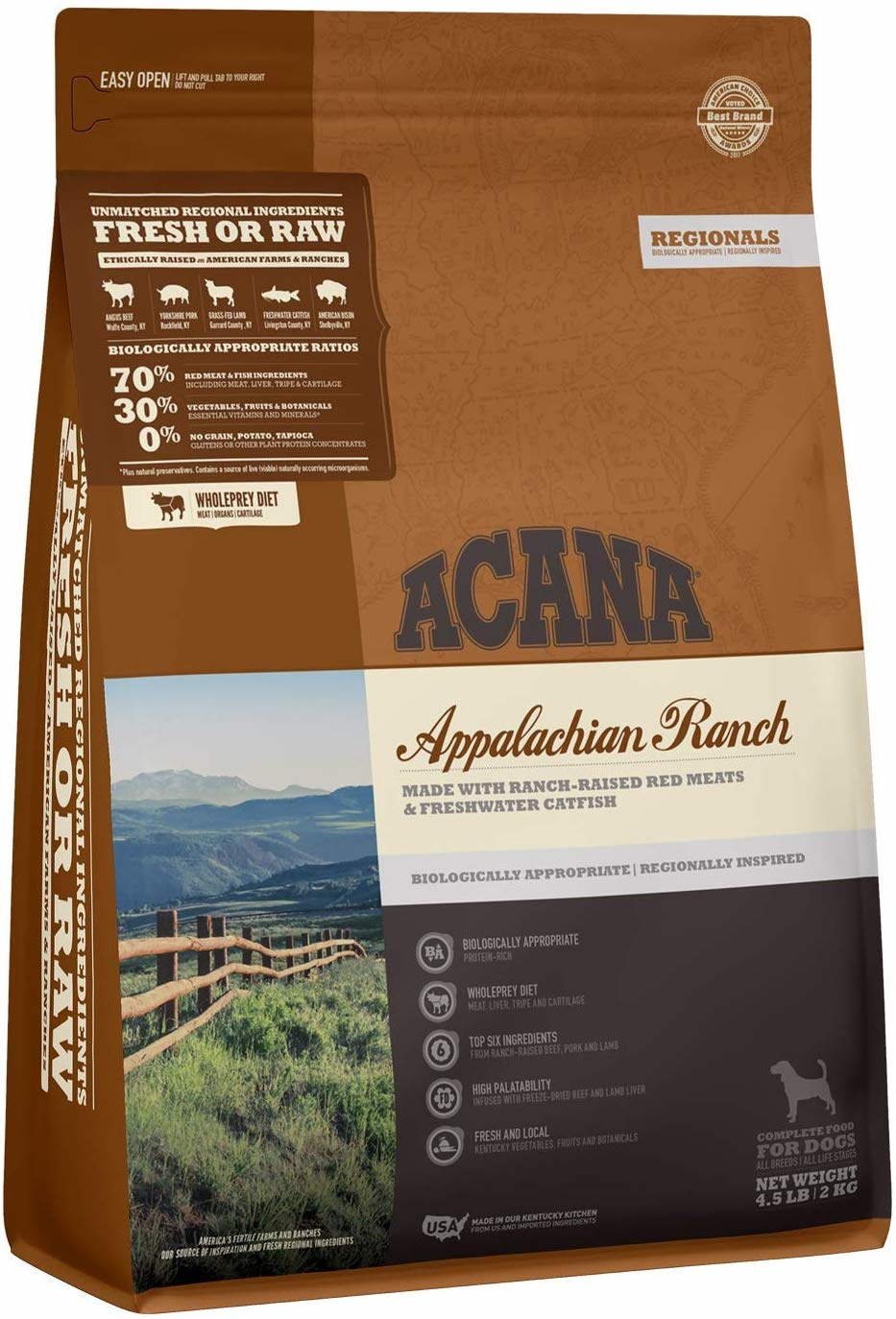 Acana (Champion) Acana Appalachian Ranch 4.5lb