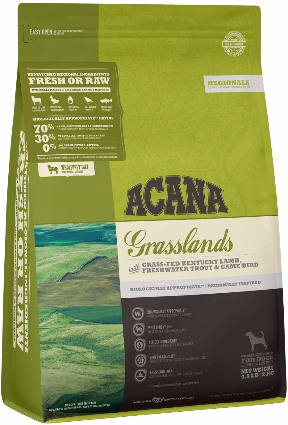 Acana (Champion) Acana Grasslands 4.5lb