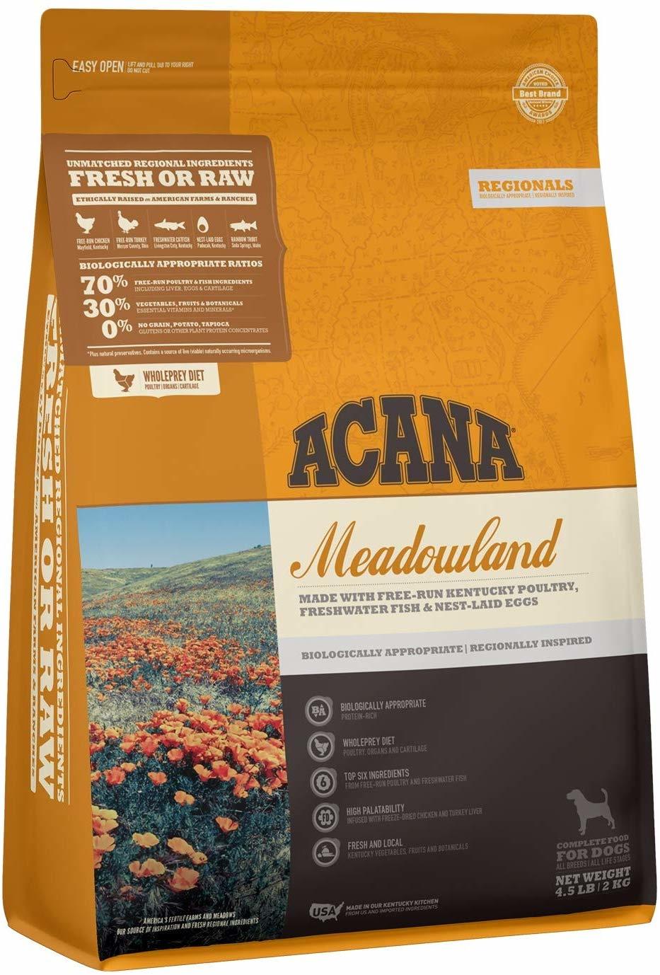Acana (Champion) Acana Meadowland 4.5lb