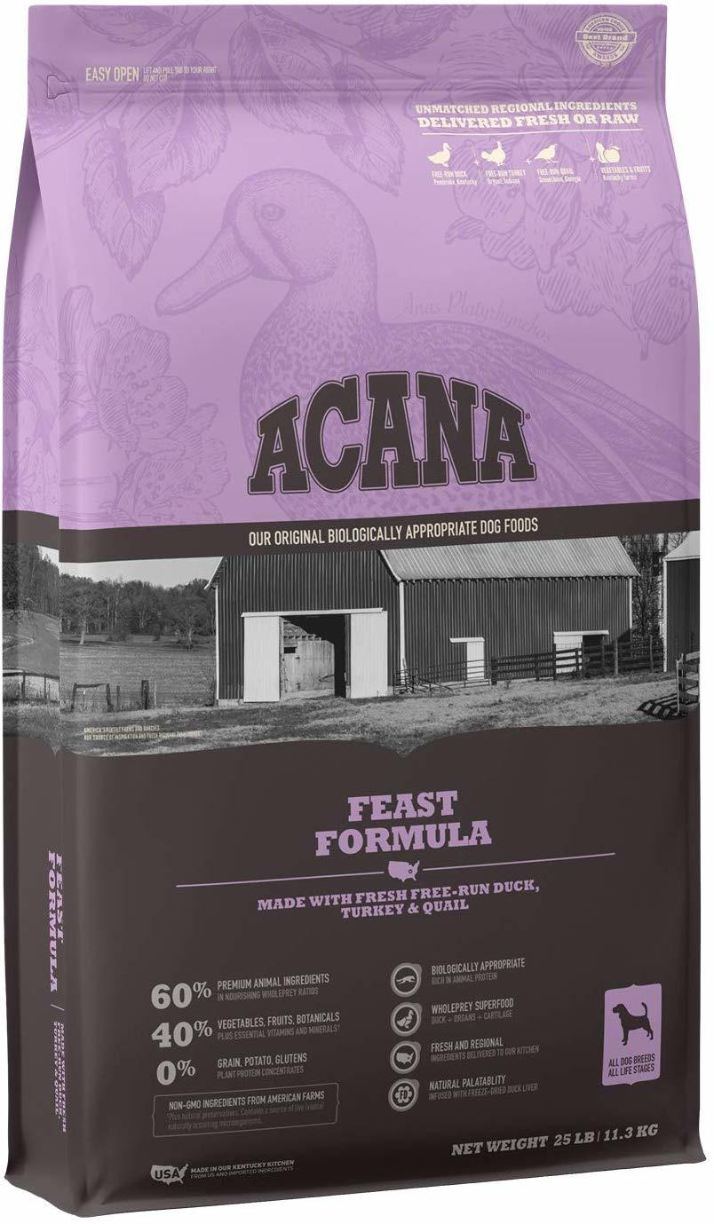 Acana (Champion) Acana Heritage Feast 25 lb
