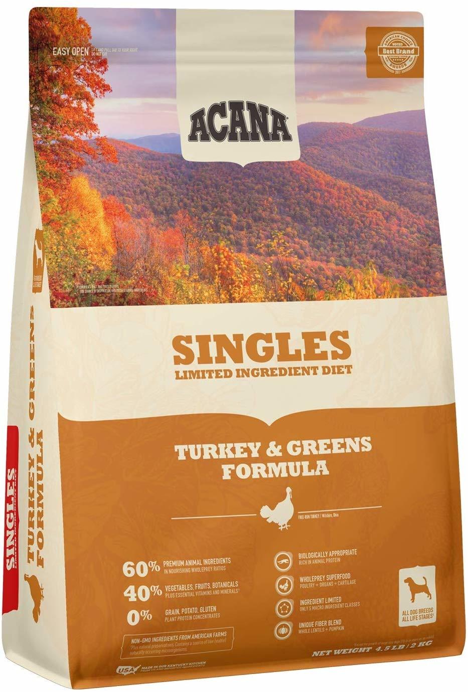 Acana (Champion) Acana Turkey & Greens 4.5 lb