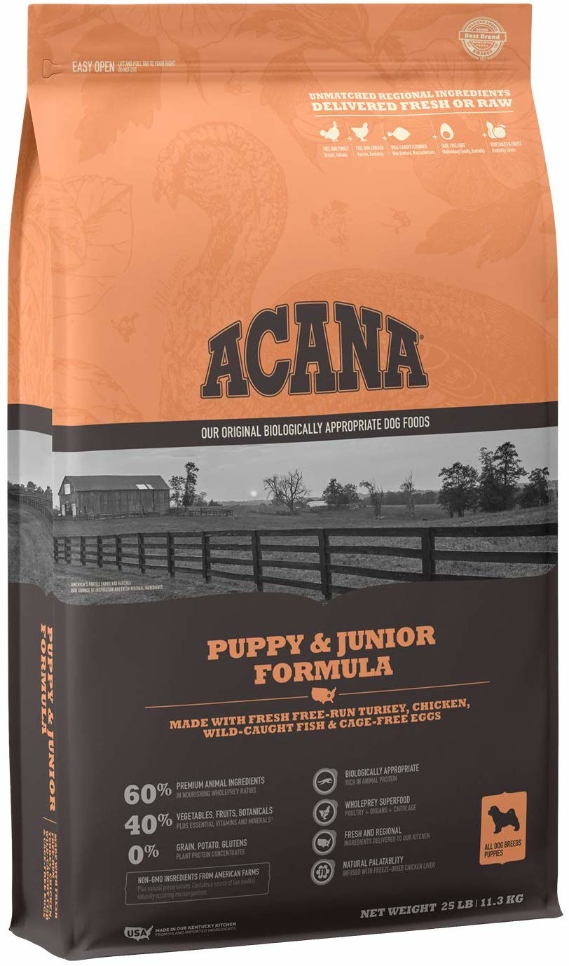 Acana (Champion) Acana Heritage Puppy & Junior 25 lb