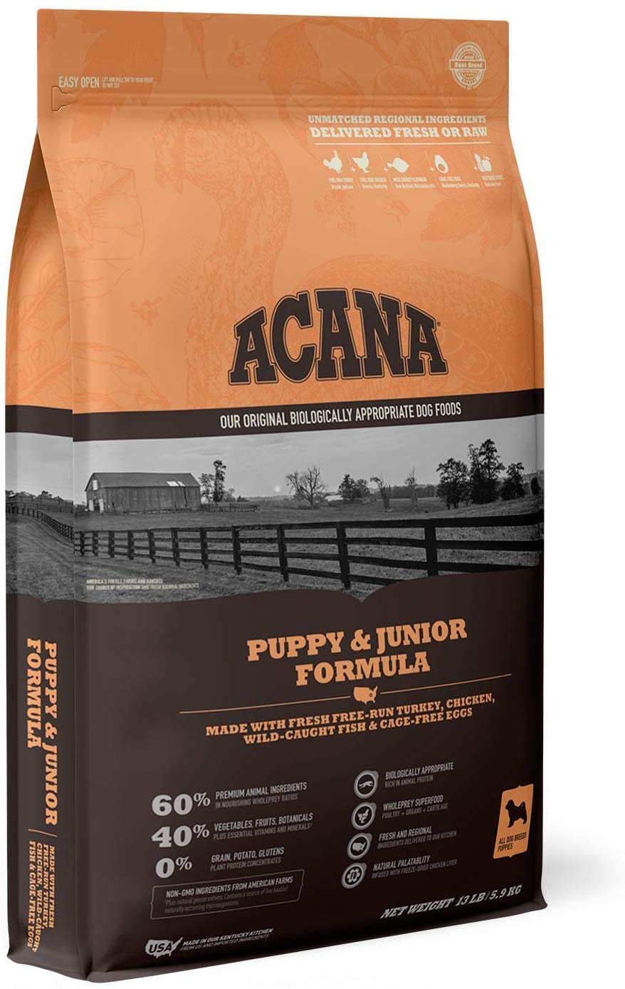 Acana (Champion) Acana Heritage Puppy & Junior 13 lb