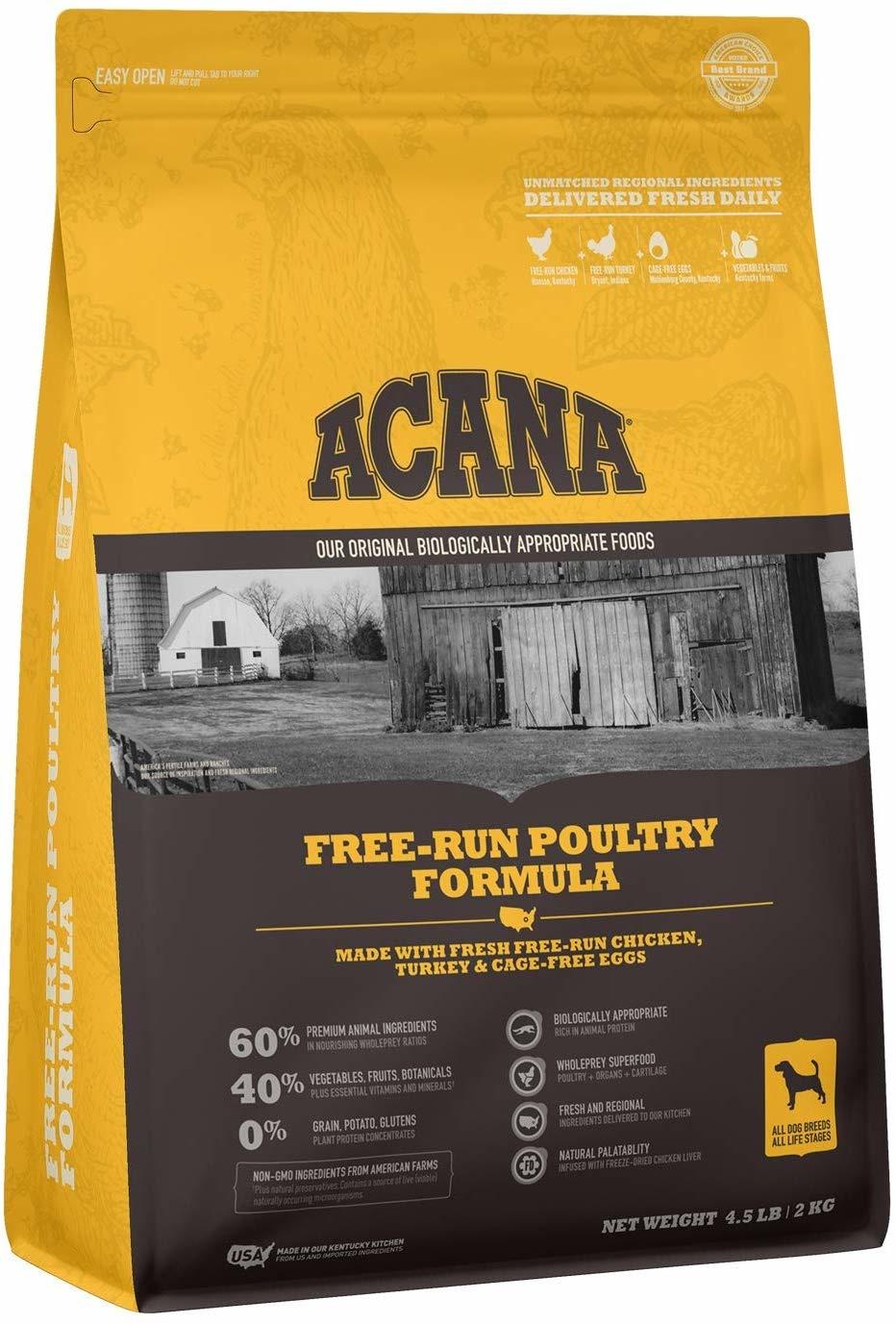 Acana (Champion) Acana Free-Run Poultry 4.5lb