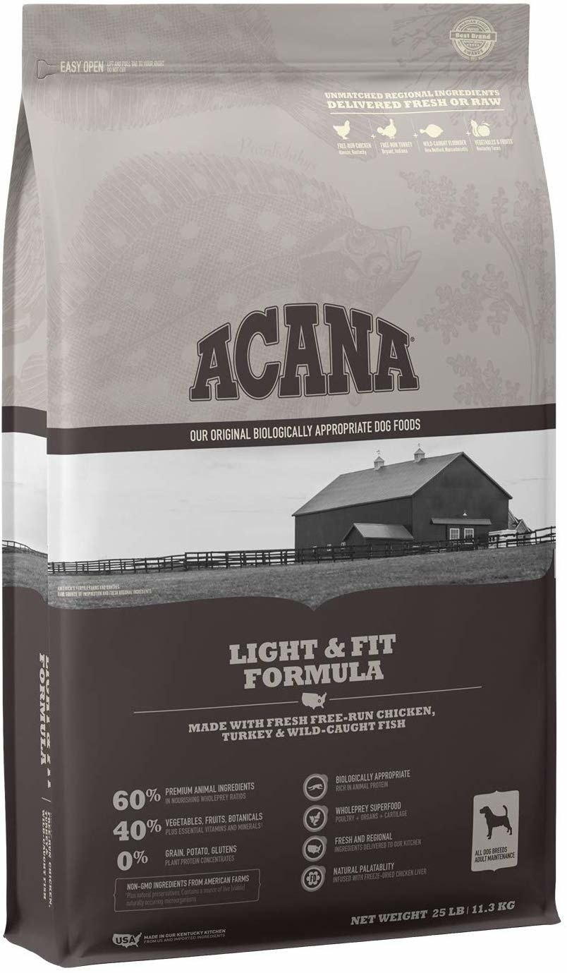 Acana (Champion) Acana Heritage Light & Fit 25 lb