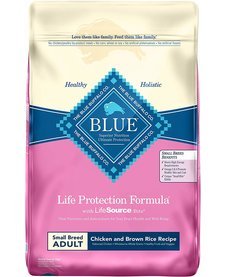 Blue Sm Breed Chicken & Rice 6lb