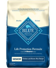 Blue Senior Chicken & Rice 30lb