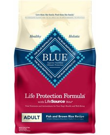 Blue Fish & Rice Adult 15 lb