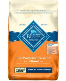 Blue Lg Brd Chicken & Rice 15 lb