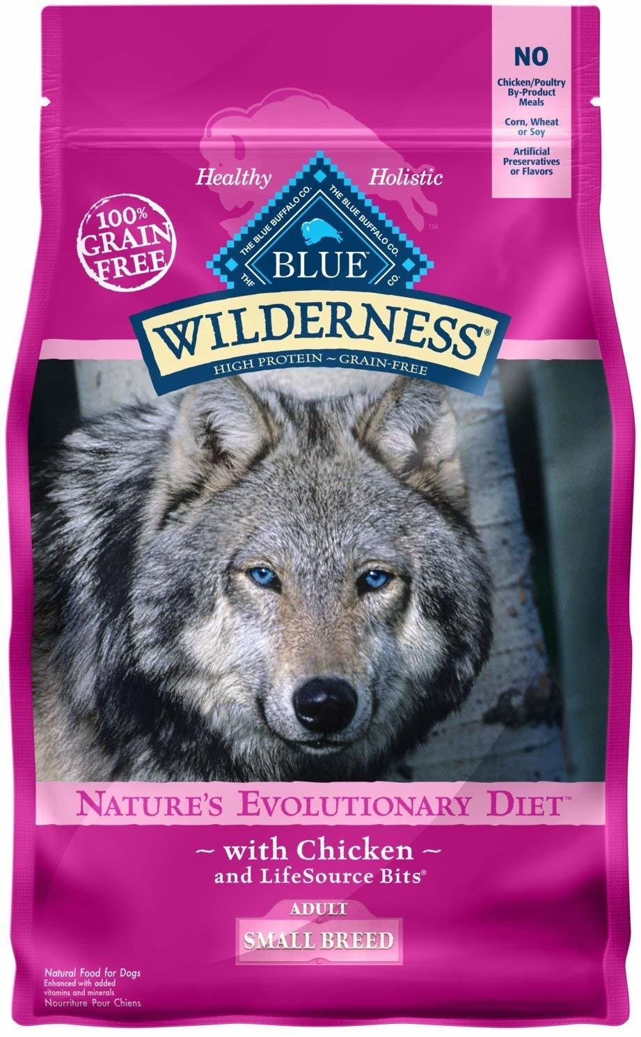 Blue Buffalo Blue Wilderness Sm Brd Chicken 4.5 lb