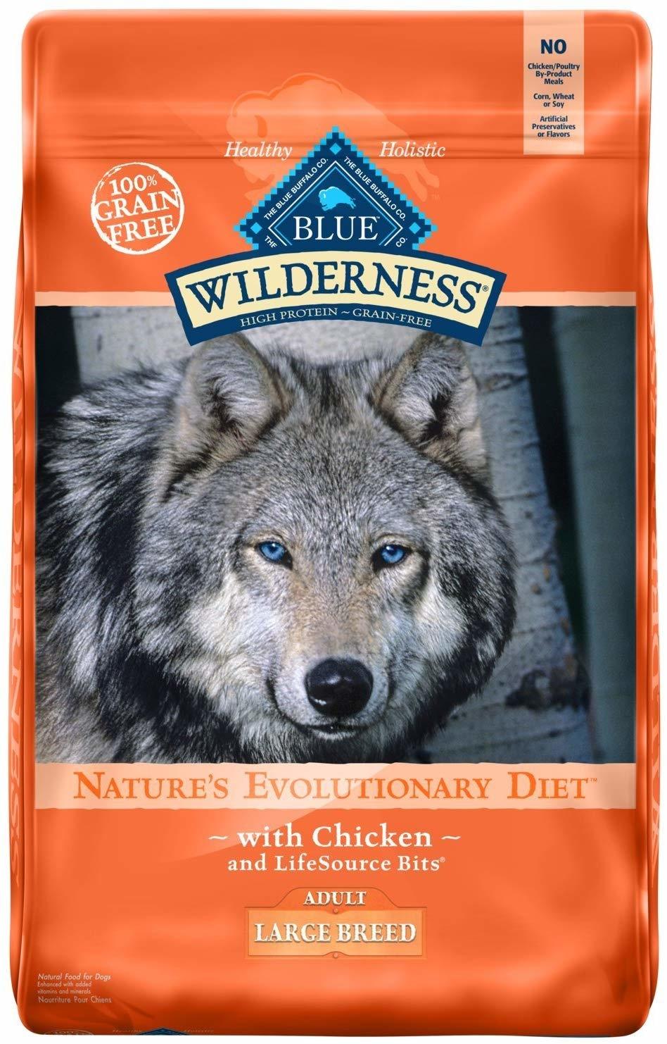 Blue Buffalo Blue Wild Lg Breed Chicken 24lb