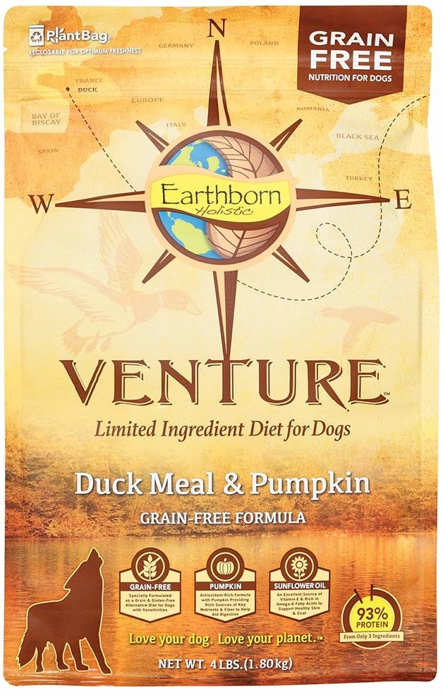 Earthborn Earthborn Venture Duck 4 lb