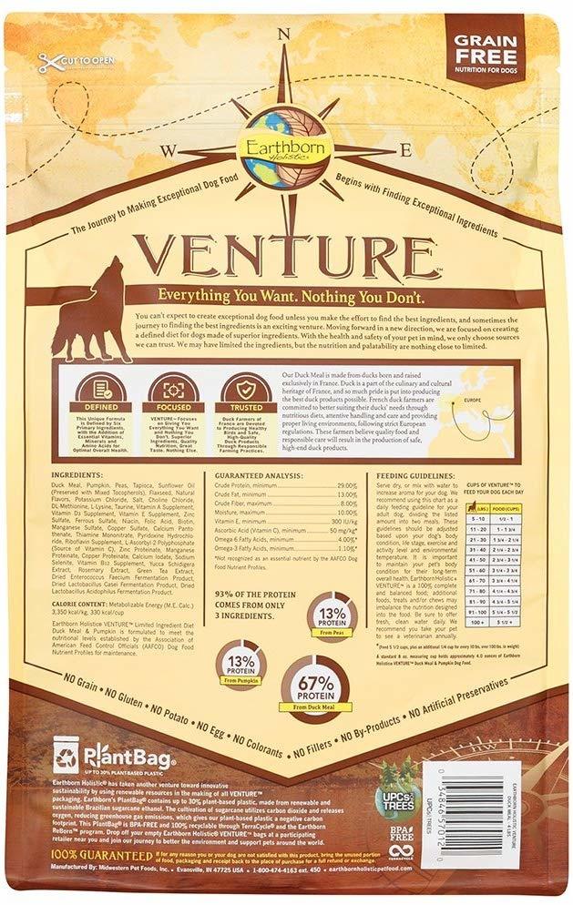 Earthborn Earthborn Venture Duck 25 lb