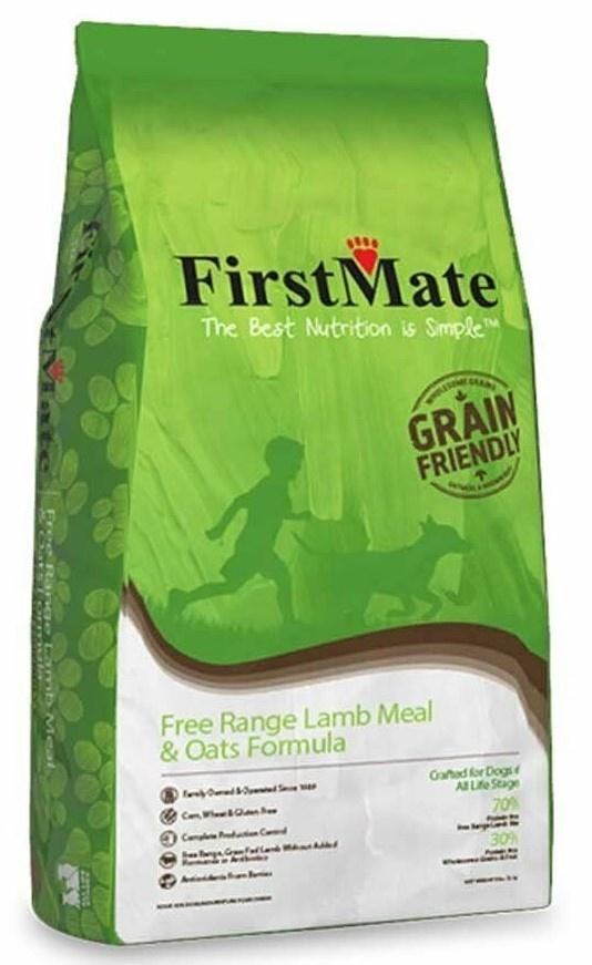 FirstMate First Mate Lamb & Oats 25 lb