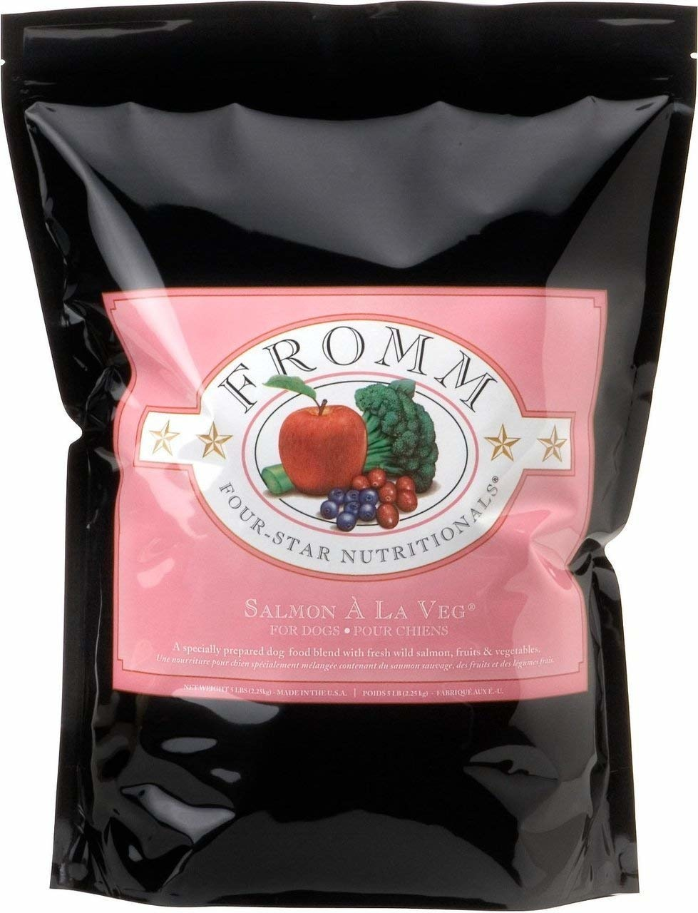 Fromm Family Foods LLC Fromm 4Star Salmon a la Veg 30lb