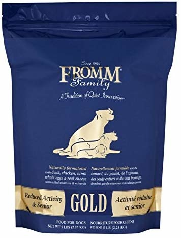 Fromm Family Foods LLC Fromm Gold Senior, Reduced Activity 5lb