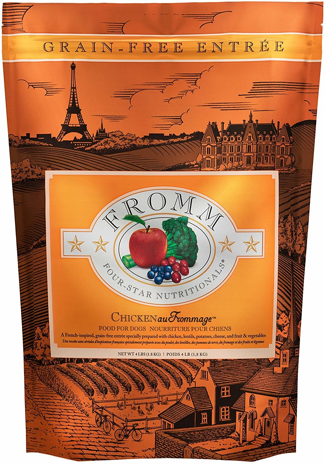 Fromm Family Foods LLC Fromm Chk au Frommage 12lb