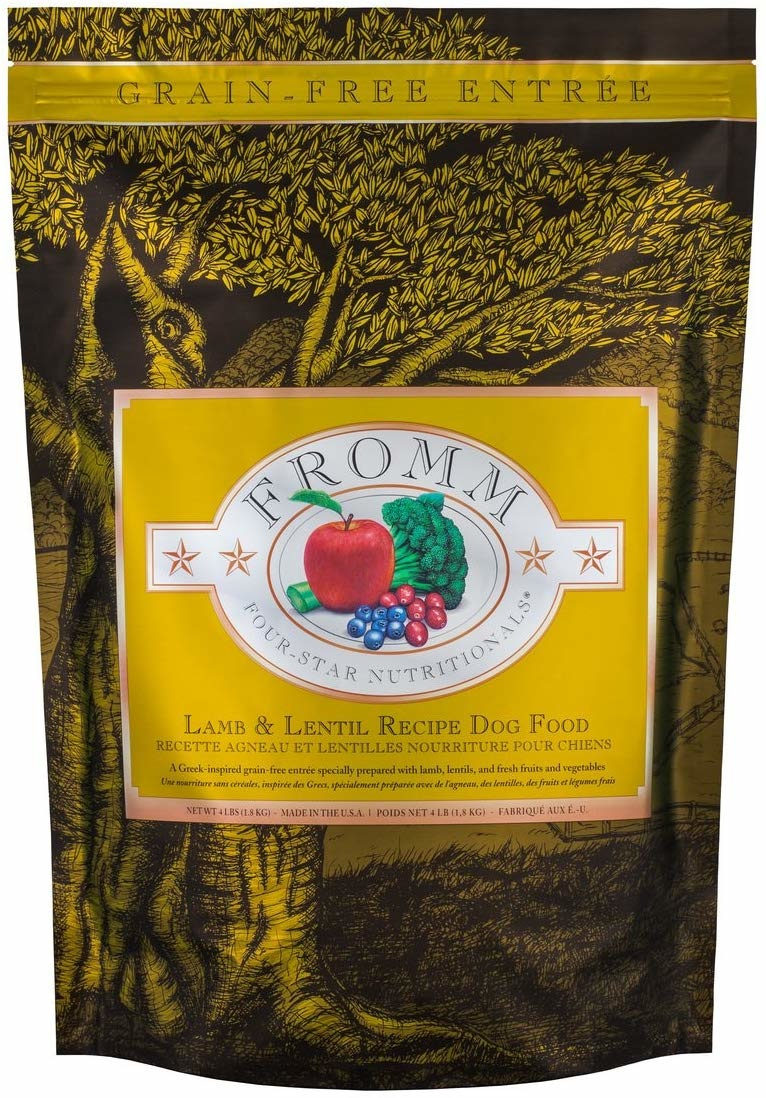 Fromm Family Foods LLC Fromm 4Star Lamb and Lentil 12lb