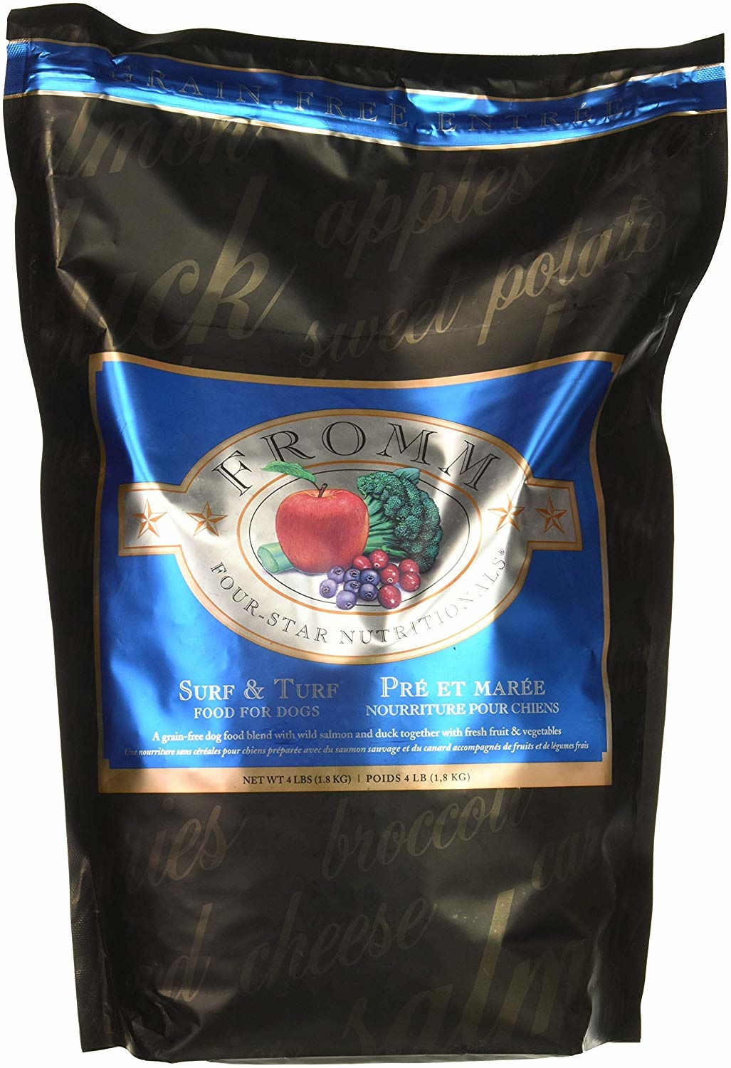 Fromm Family Foods LLC Fromm 4Star Surf, Turf 26lb