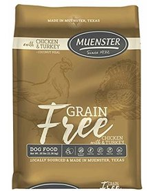 Muenster Grain-Free Chicken & Turkey 5 lb