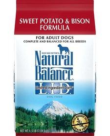 Natural Balance Bison/Swt Pot 26lb