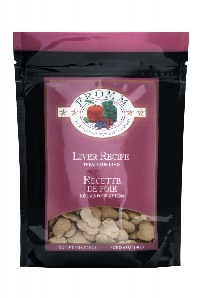 Fromm Family Foods LLC Fromm Training Treats Liver 6oz
