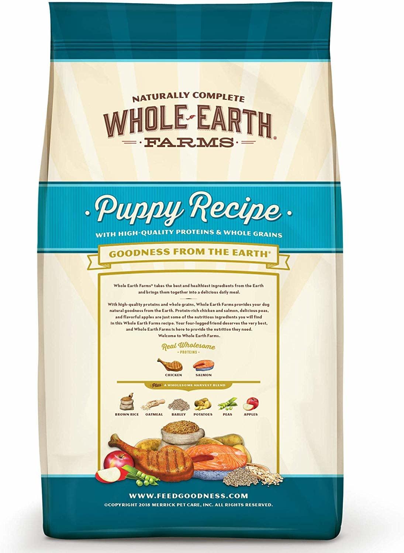 Whole Earth Farms WEF Puppy Recipe 25 lb