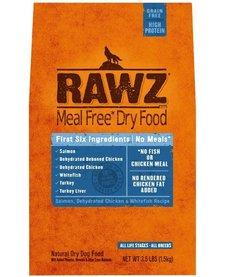Rawz Salmon, Chicken & Whitefish Dog 3.5lb