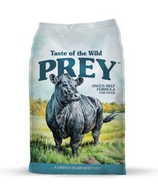 Taste Of the Wild Prey LID Angus Beef 25 lb