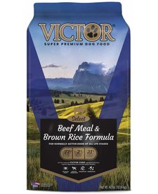 Victor Beef and Brown Rice 40 lb