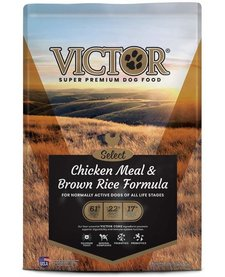 Victor Chicken and Brown Rice 5 lb