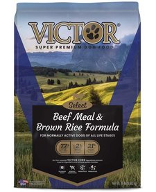 Victor Beef & Brown Rice 15 lb