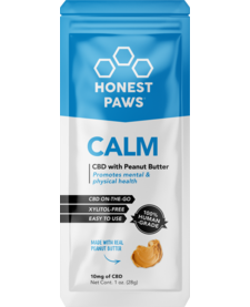 Honest Paws CBD Peanut Butter Travel Size 10 mg