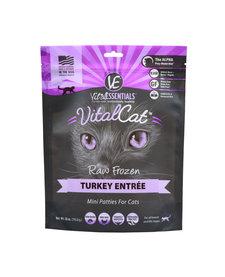 Vital Essentials Cat Turkey Mini Patties 28 oz