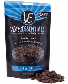 Vital Essentials Freeze-Dried Beef Nibs 2.5 oz