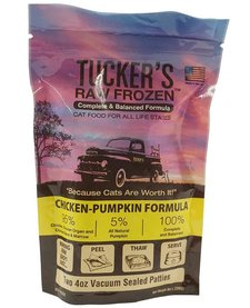 Tucker's Cat Chicken Pumpkin 8 oz