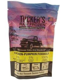 Tucker's Raw Frozen Cat Chicken & Pumpkin 8 oz