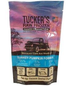 Tucker's Raw Frozen Cat Turkey & Pumpkin 24 oz