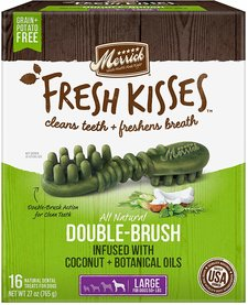 Merrick LG Fresh Kisses Brush 27 oz