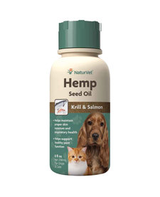 NaturVet Hemp Seed Oil 8 oz
