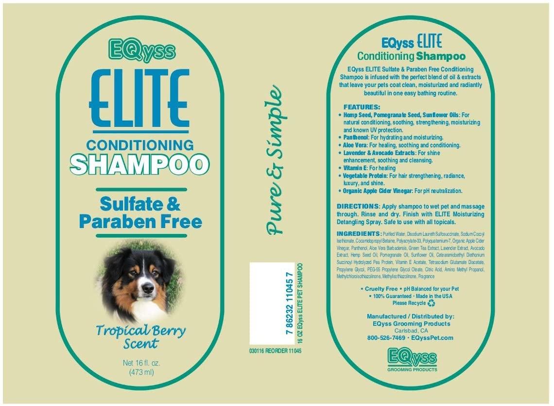 EQyss Grooming EQyss Elite Condition Shampoo 16 oz