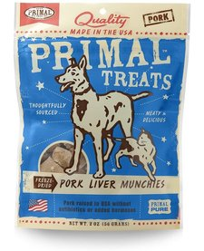 Primal Beef Liver Munchies 2oz
