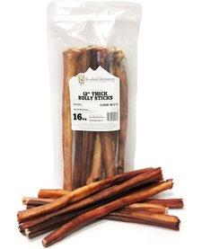"""NDC 12"""" Odor Free Bully Sticks 1 lb"""