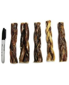 "NDC 6"" Braided Gullet Sticks"